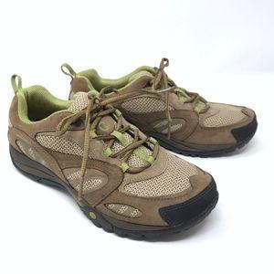 Merrell Azura Hiking Shoe Waterproof Brown Green